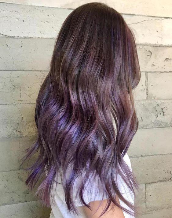 30 Gorgeous Purple Ombre Hair Color Ideas 10