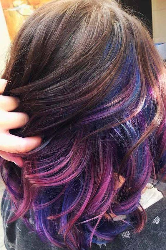 30 Gorgeous Purple Ombre Hair Color Ideas 12