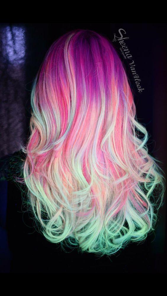 30 Gorgeous Purple Ombre Hair Color Ideas 16