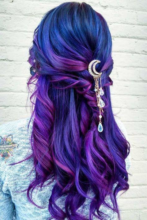 30 Gorgeous Purple Ombre Hair Color Ideas 20