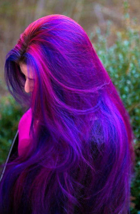 30 Gorgeous Purple Ombre Hair Color Ideas 21