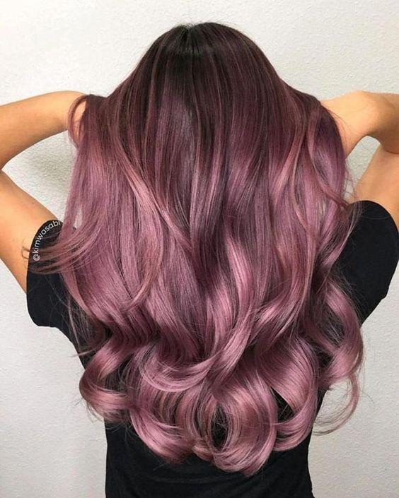 30 Gorgeous Purple Ombre Hair Color Ideas 22