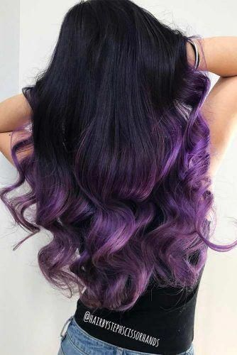 30 Gorgeous Purple Ombre Hair Color Ideas 25