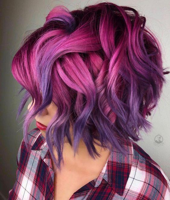 30 Gorgeous Purple Ombre Hair Color Ideas 26