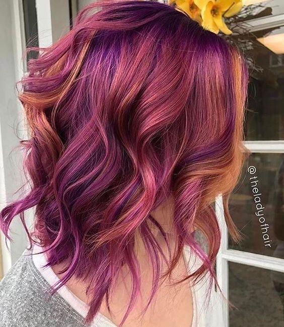30 Gorgeous Purple Ombre Hair Color Ideas 27