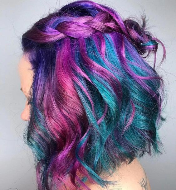 30 Gorgeous Purple Ombre Hair Color Ideas 30
