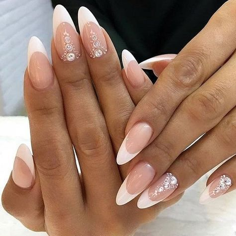 30 Unique Ideas on How to Bump Up French Tip Nails 6