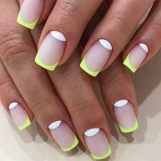 30 Unique Ideas on How to Bump Up French Tip Nails 8