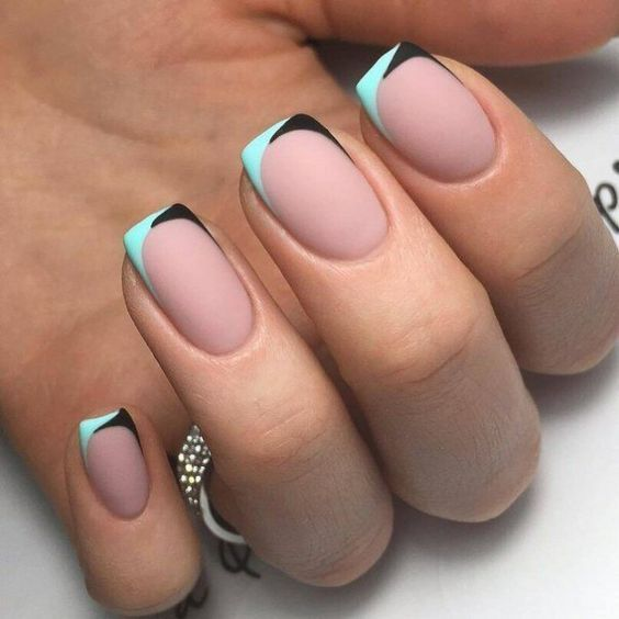 30 Unique Ideas on How to Bump Up French Tip Nails 13