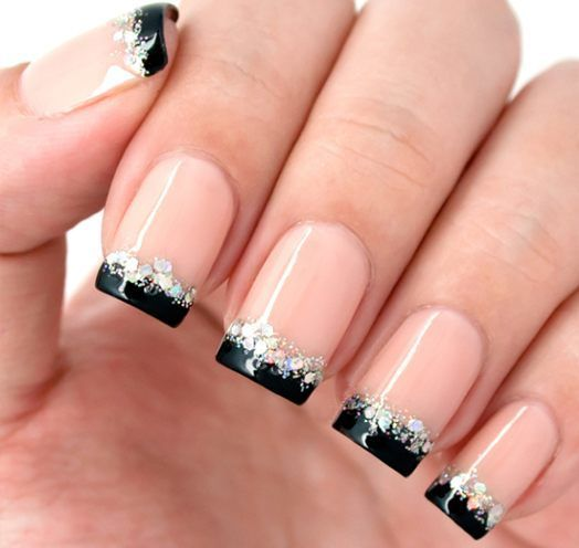 30 Unique Ideas on How to Bump Up French Tip Nails 20