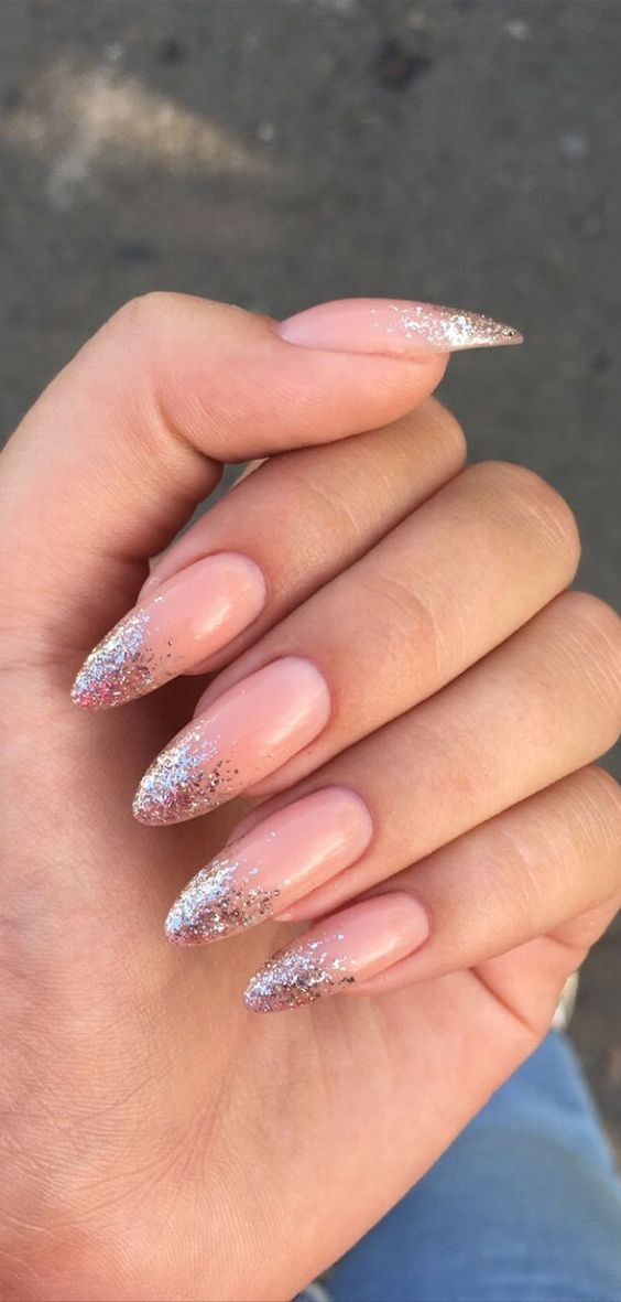 30 Unique Ideas on How to Bump Up French Tip Nails 23
