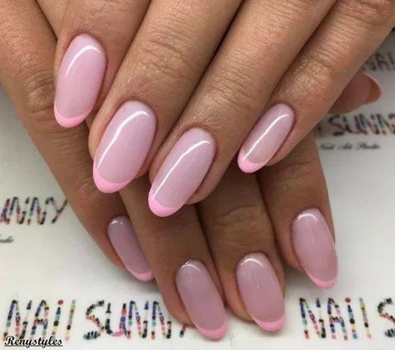 30 Unique Ideas on How to Bump Up French Tip Nails 24