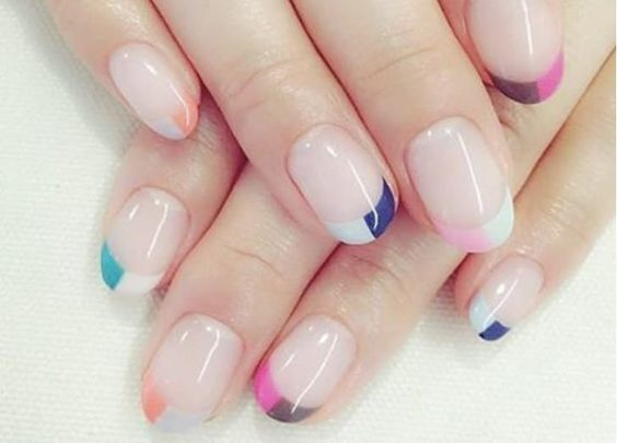 30 Unique Ideas on How to Bump Up French Tip Nails 26