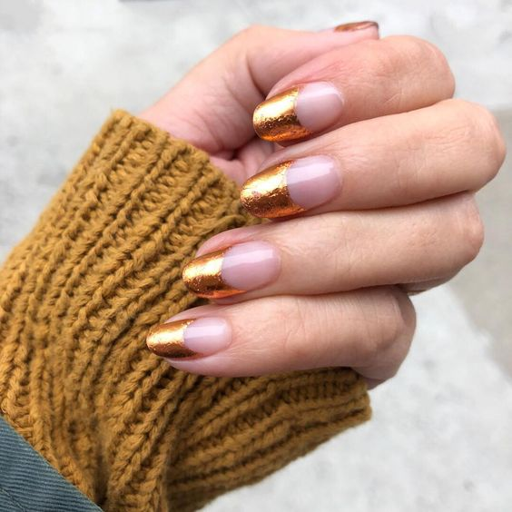 30 Unique Ideas on How to Bump Up French Tip Nails 29