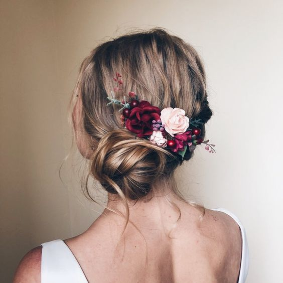 30 Mesmerizing Wedding Hairstyles for Short Hair 10