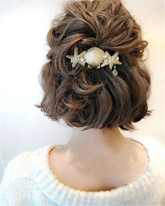 30 Mesmerizing Wedding Hairstyles for Short Hair 16