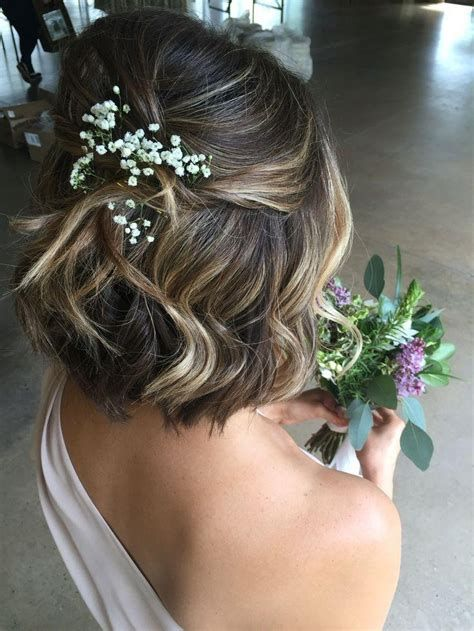 30 Mesmerizing Wedding Hairstyles for Short Hair 19
