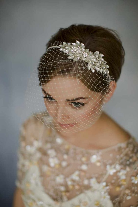 30 Mesmerizing Wedding Hairstyles for Short Hair 20