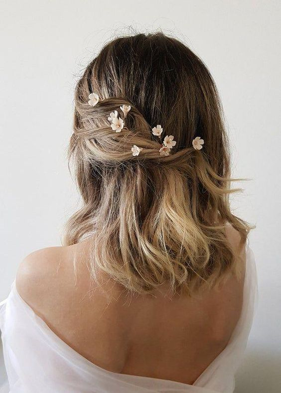 30 Mesmerizing Wedding Hairstyles for Short Hair 24