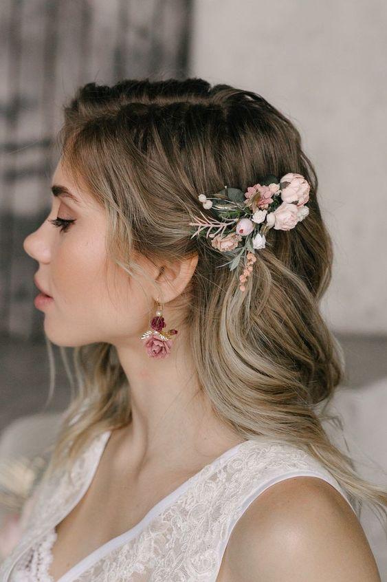 30 Mesmerizing Wedding Hairstyles for Short Hair 28
