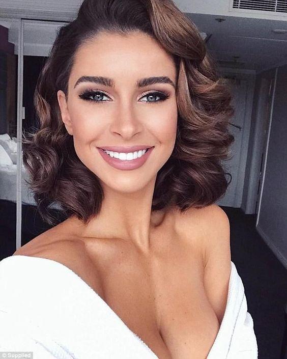 30 Mesmerizing Wedding Hairstyles for Short Hair 30
