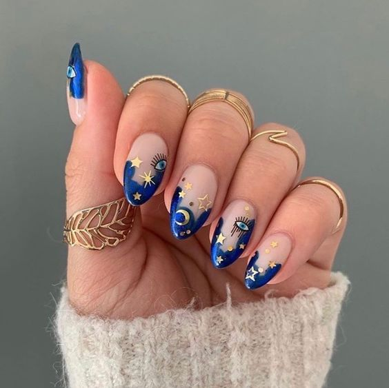 30 Gorgeous Acrylic Nail Designs that Will Step Up Your Style 10