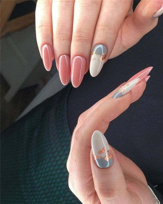 30 Gorgeous Acrylic Nail Designs that Will Step Up Your Style 16