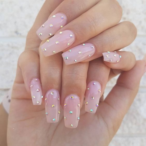 30 Gorgeous Acrylic Nail Designs that Will Step Up Your Style 18