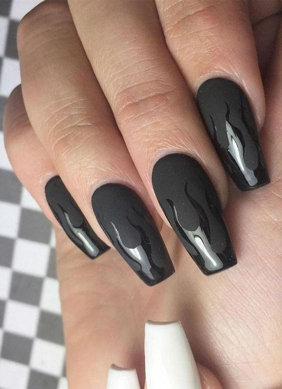 30 Gorgeous Acrylic Nail Designs that Will Step Up Your Style 20