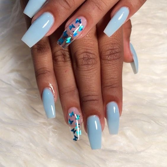 30 Gorgeous Acrylic Nail Designs that Will Step Up Your Style 23