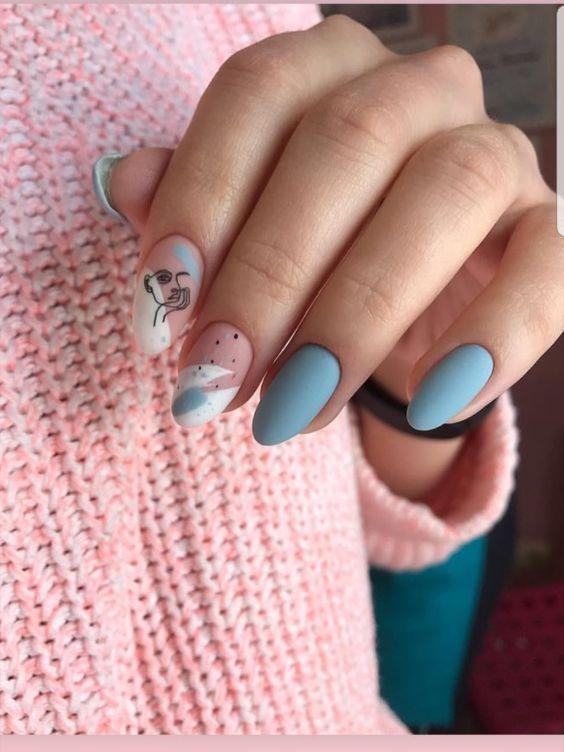 30 Stunning Almond Nail Art Ideas to Recreate 17