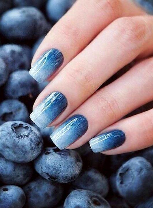 30 Glamorous Blue Nail Designs for Fashion Pros 30