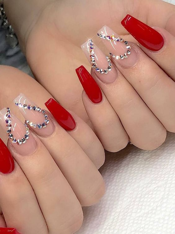 30 Eye-Catching Coffin Nail Designs to Rock this Year 5