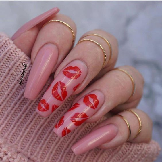 30 Eye-Catching Coffin Nail Designs to Rock this Year 6
