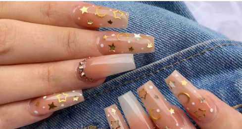 30 Eye-Catching Coffin Nail Designs to Rock this Year 16