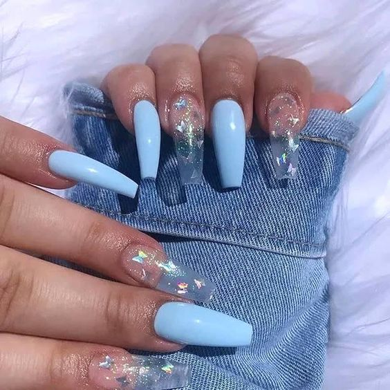 30 Eye-Catching Coffin Nail Designs to Rock this Year 17