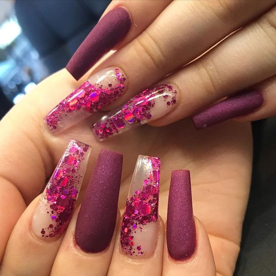 30 Eye-Catching Coffin Nail Designs to Rock this Year 30