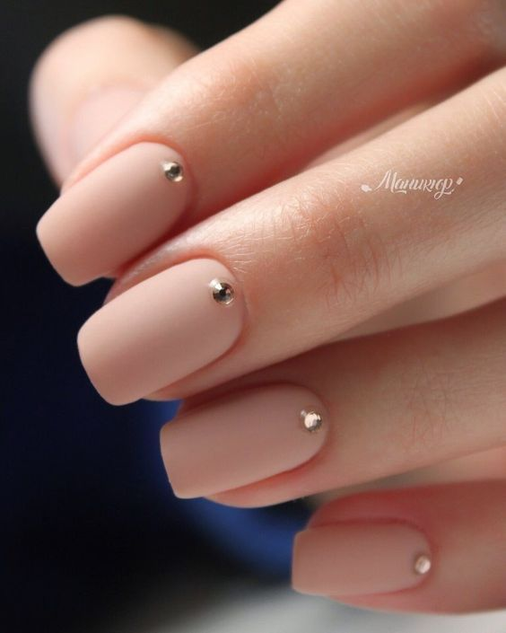 30 Unique Nude Nails to Try in 2020 1