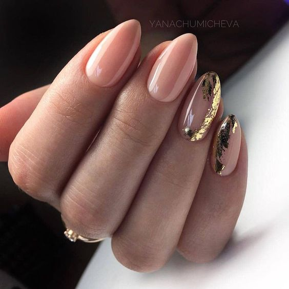 30 Unique Nude Nails to Try in 2020 3