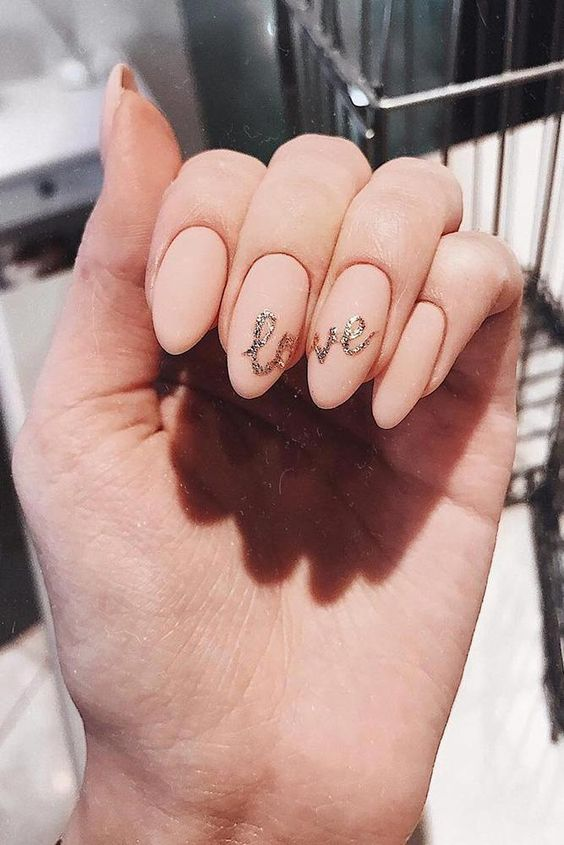 30 Unique Nude Nails to Try in 2020 8