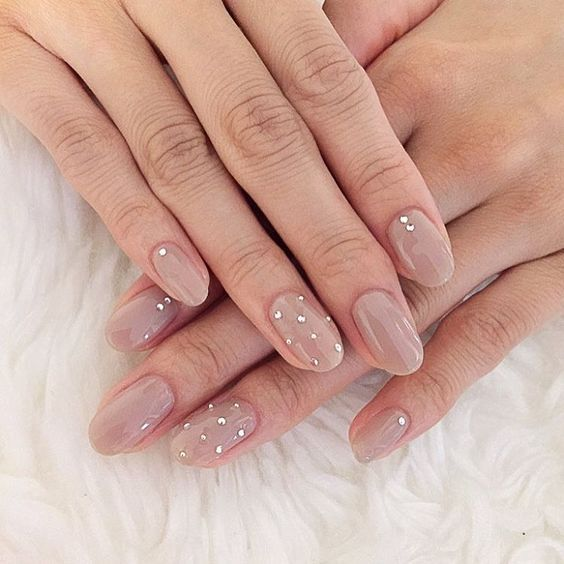30 Unique Nude Nails to Try in 2020 9