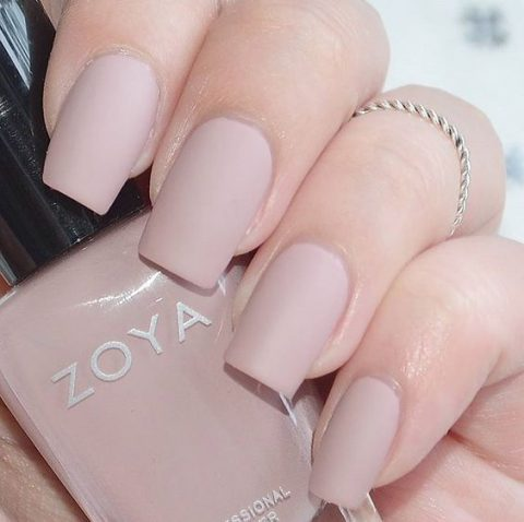 30 Unique Nude Nails to Try in 2020 12