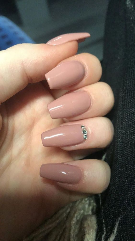 30 Unique Nude Nails to Try in 2020 13