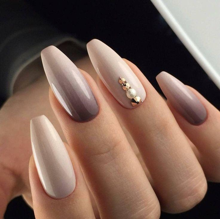 30 Unique Nude Nails to Try in 2020 18