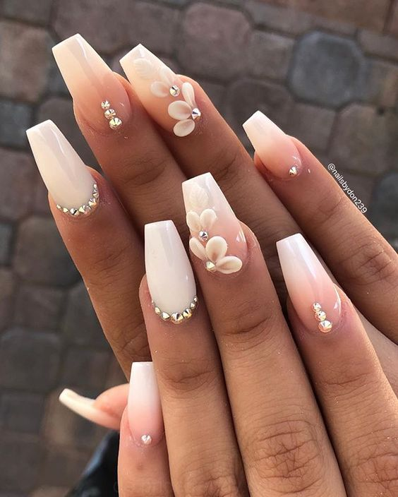 30 Unique Nude Nails to Try in 2020 22