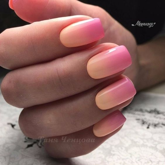 30 Modern Ombre Nails To Update your Style Game 6