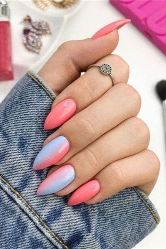 30 Modern Ombre Nails To Update your Style Game 8