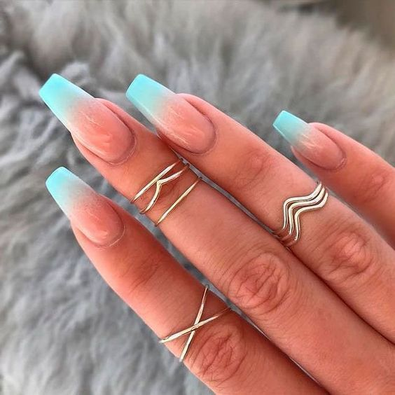 30 Modern Ombre Nails To Update your Style Game 11