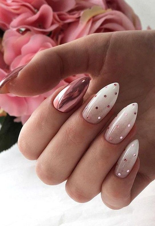 30 Cute Pink Nails to Elevate your Feminine Style 8