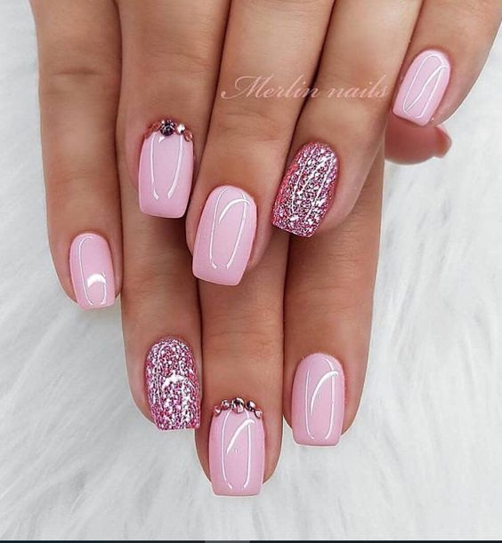 30 Cute Pink Nails to Elevate your Feminine Style 10